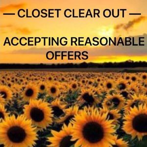 Tops - Closet Clear Out!